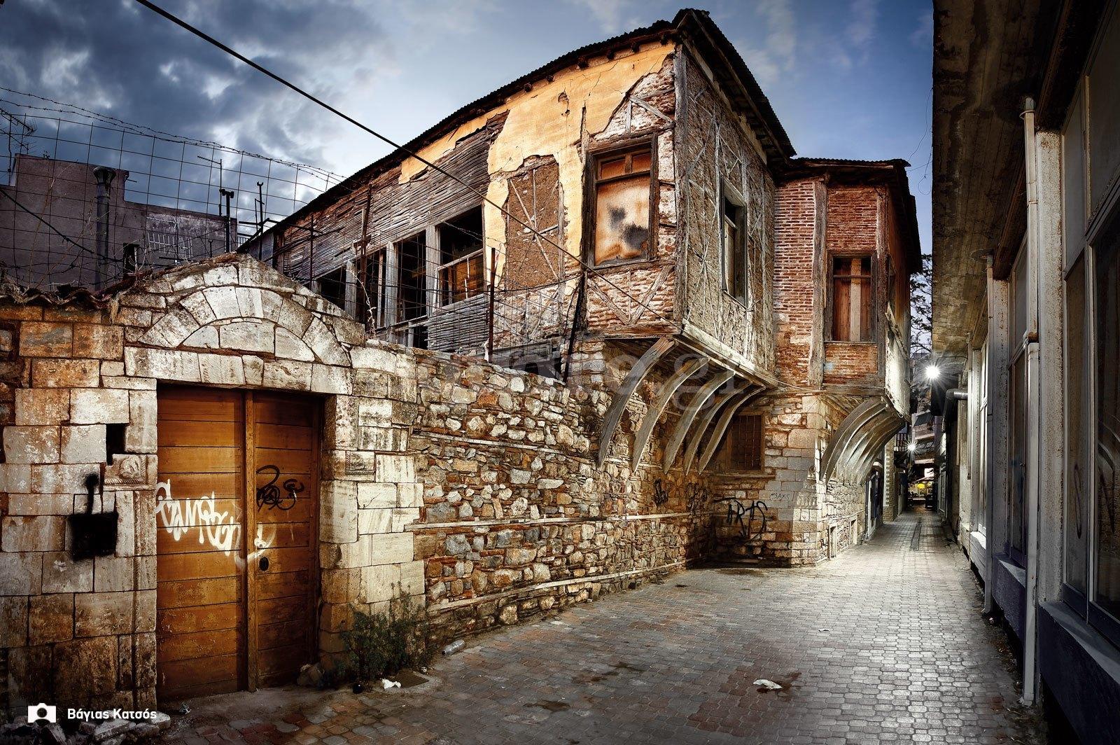 1-Οικία-οδού-παίδων-Χαλκίδα-τουρκοκρατία-και-μεταβυζαντικό-σπίτι