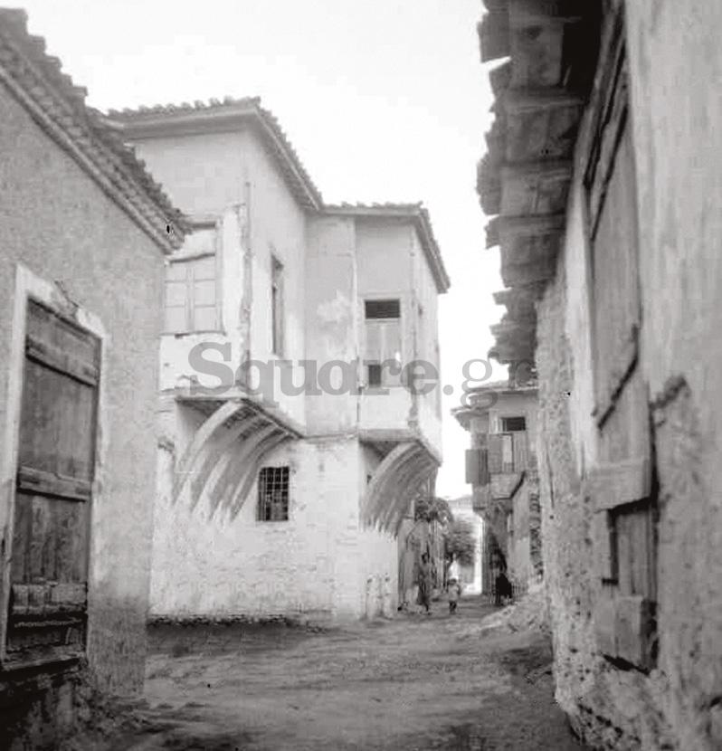 12-Οικία-οδού-παίδων-Χαλκίδα-τουρκοκρατία-και-μεταβυζαντικό-σπίτι-Οικία-Καράκωστα-1900