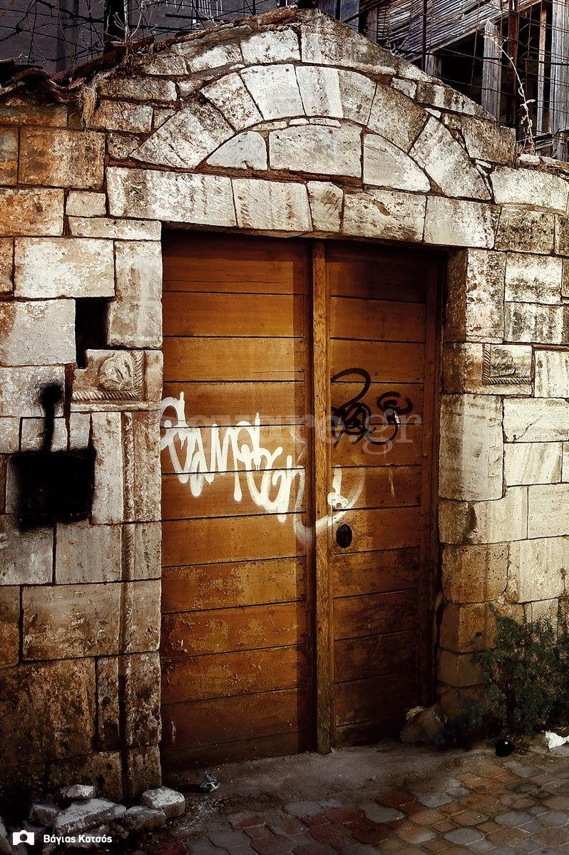 4- Οικία-οδού-παίδων-Χαλκίδα-τουρκοκρατία-και-μεταβυζαντικό-σπίτι-πορτα