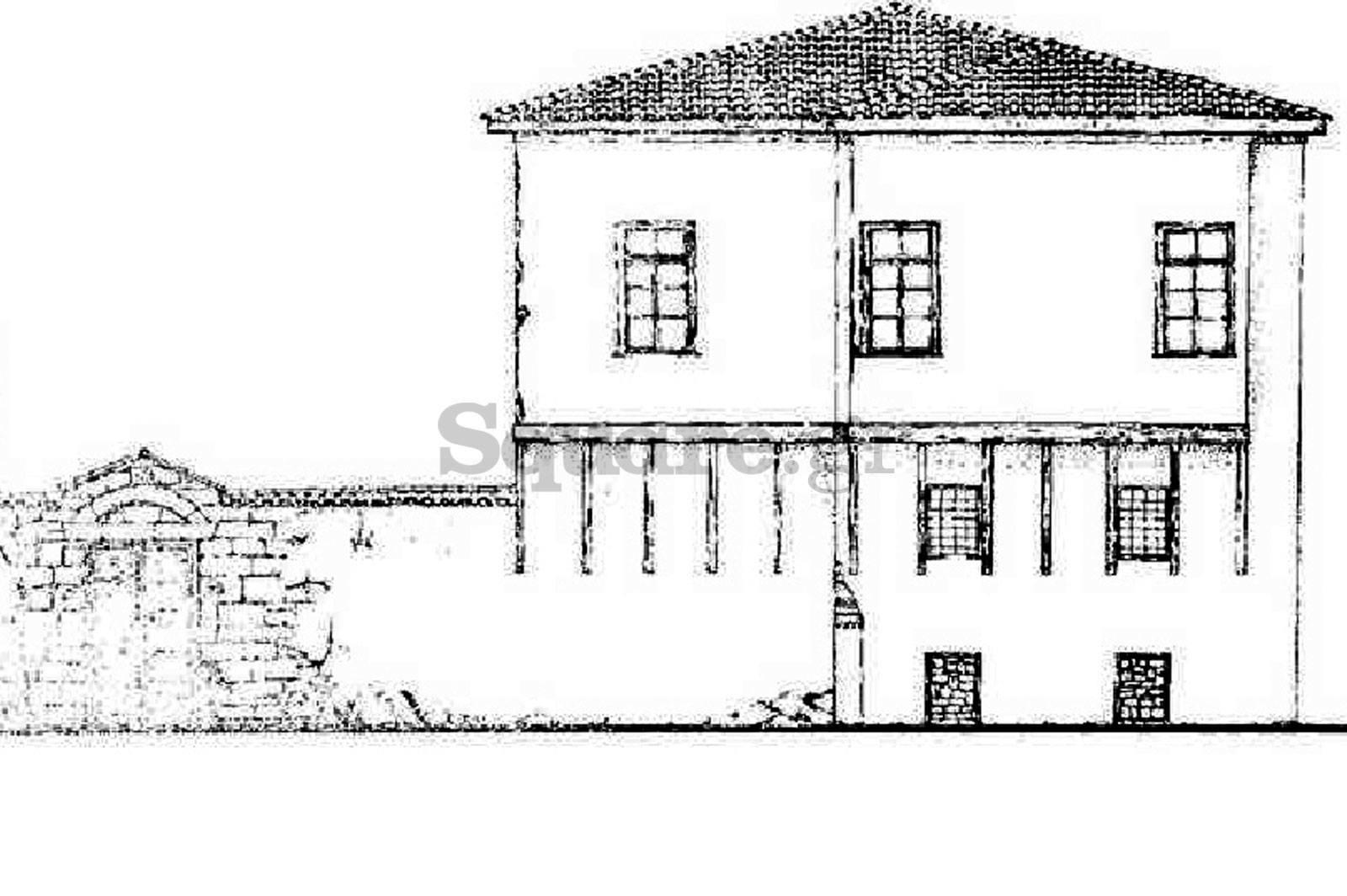 6-Οικία-οδού-παίδων-Χαλκίδα-τουρκοκρατία-και-μεταβυζαντικό-σπίτι-anatoliki-opsi