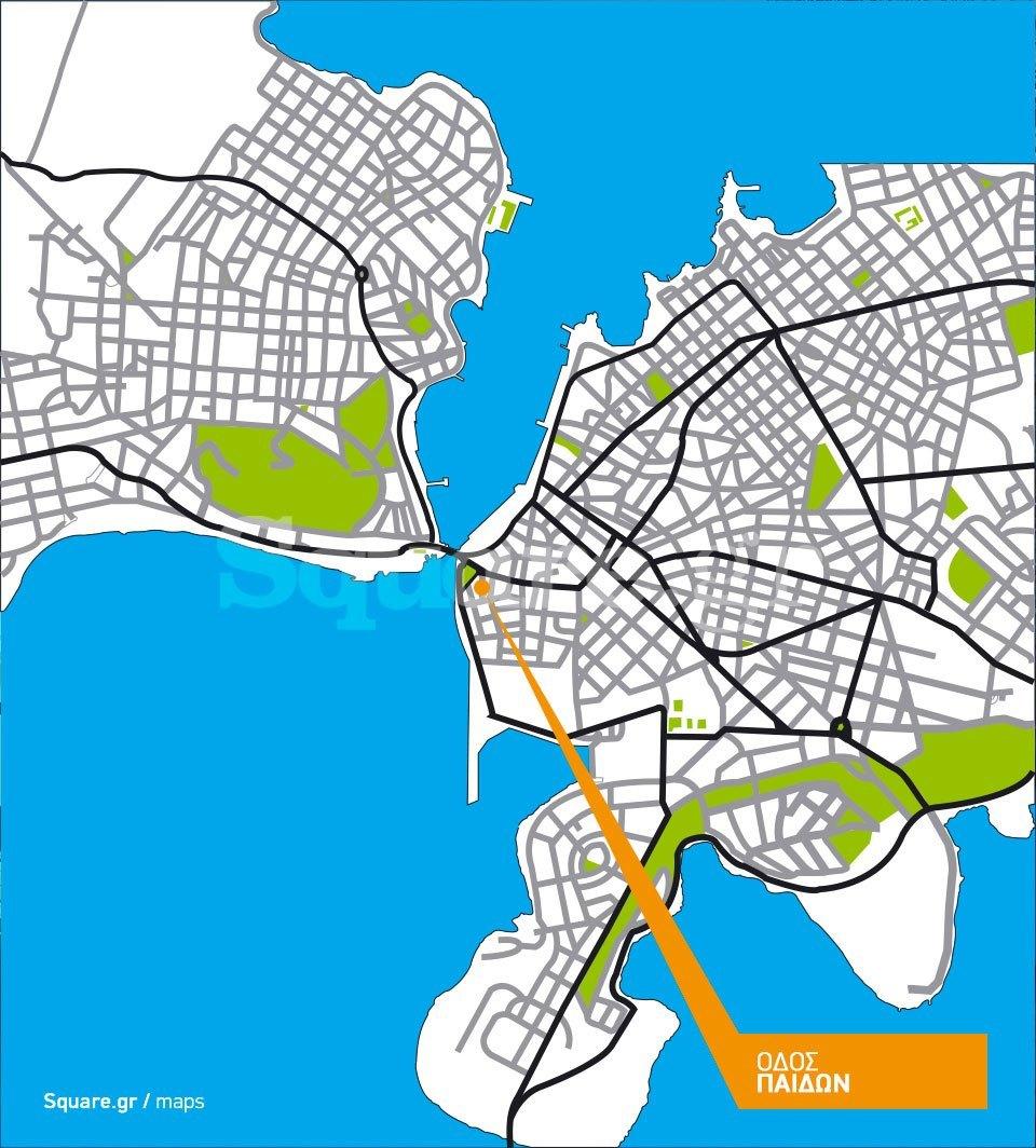 Οικία-οδού-Παίδων-Χαλκίδα-Square-Τουρκοκρατία-map