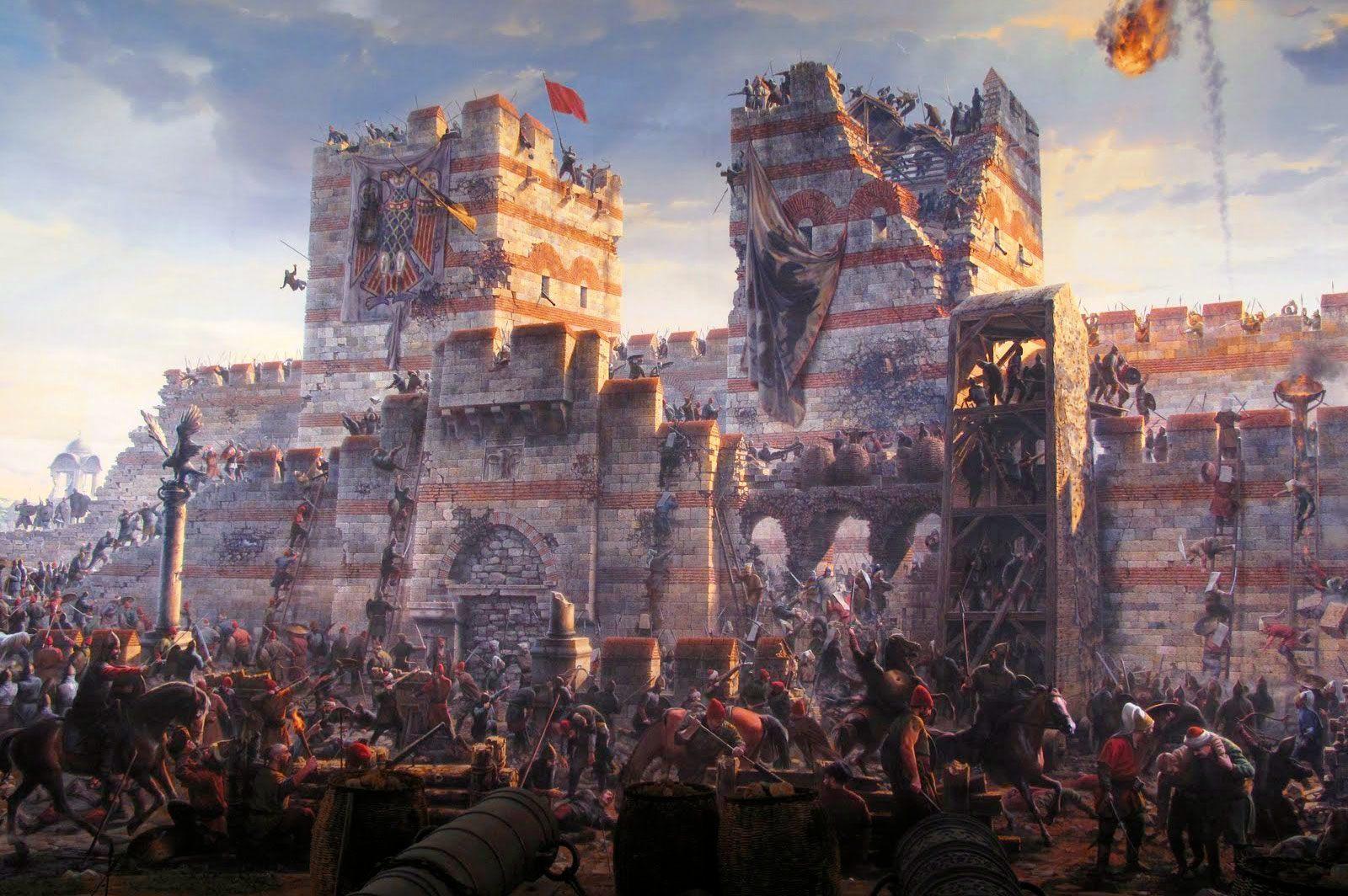 2-Ελένη-Γλύκατζη--Αρβελέρ-μύθοi-για-την-Άλωση-της-Κωνσταντινούπολης,-29-Μαίου-1453
