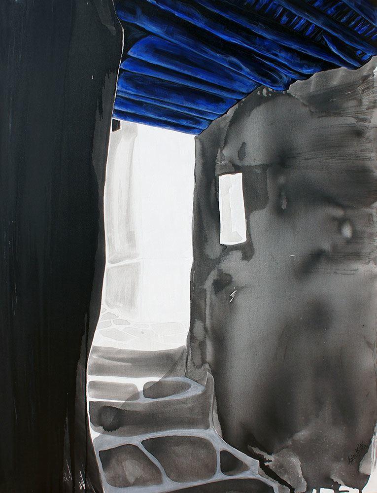 2-Σπύρος-Πανουργιάς-έκθεση-ζωγραφικής--κόκκινο-σπίτι-Χαλκίδα