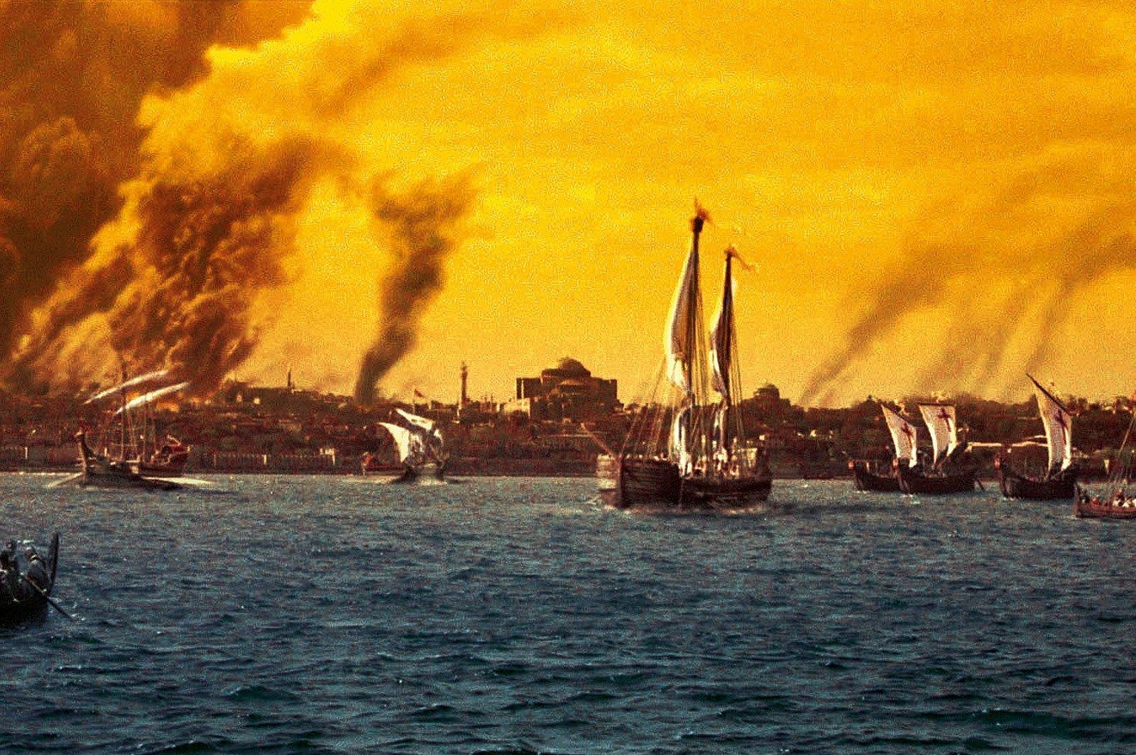 3-Ελένη-Γλύκατζη--Αρβελέρ-μύθοi-για-την-Άλωση-της-Κωνσταντινούπολης,-29-Μαίου-1453