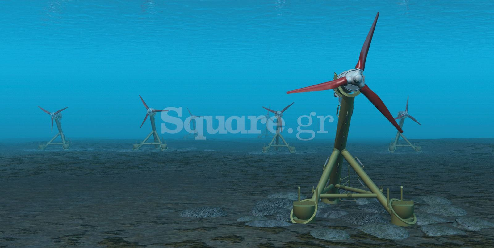 3-Ηλεκτρική-Ενέργεια-από-τον-Εύριπο-παλίρροια-Χαλκίδας-Εύβοια-Σύστημα-οριζόντιου-άξονα-Hammerfest-StrØm