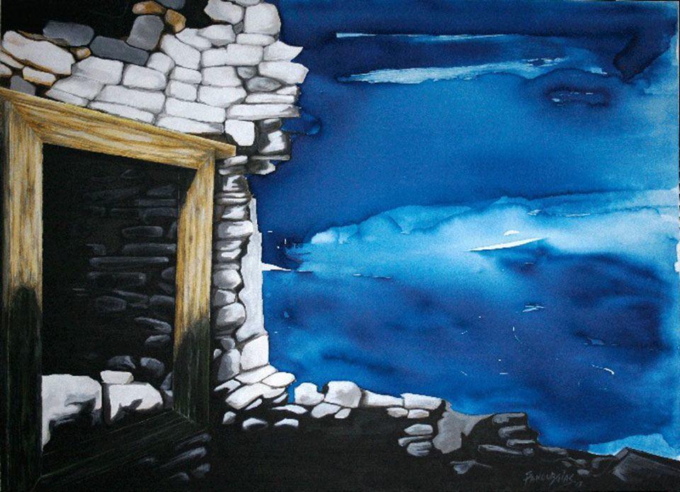3-Σπύρος-Πανουργιάς-έκθεση-ζωγραφικής--κόκκινο-σπίτι-Χαλκίδα