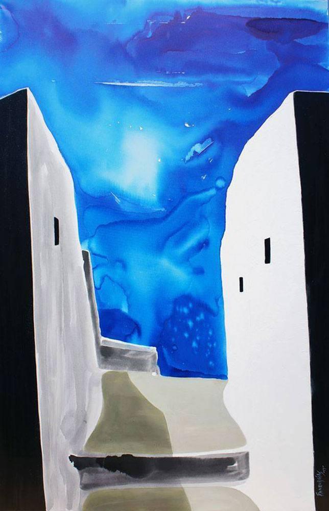 4-Σπύρος-Πανουργιάς-έκθεση-ζωγραφικής--κόκκινο-σπίτι-Χαλκίδα