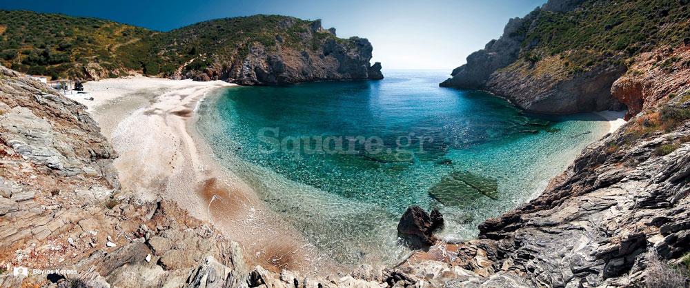Παραλία-Αλμιρίχι-νότια-Εύβοια