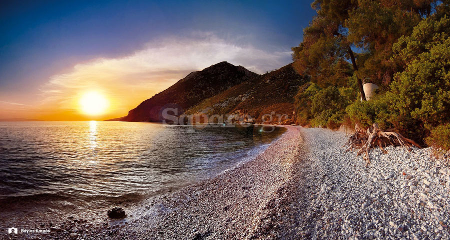 Παραλία-Δάφνη-βόρεια-Εύβοια