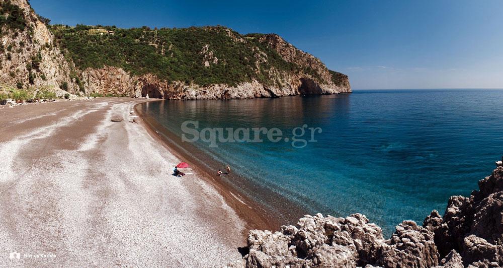 Παραλία-Λιμνιώνας-στη-βόρεια-Εύβοια