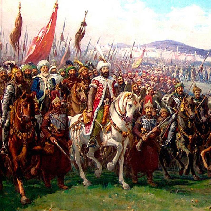 1-η-άφιξη-του-Μωάμεθ-στη-Χαλκίδα-πολιορκία-του-Νεγροπόντε-και-η-άλωση-του-από-τους-Τούρκους-το-1470