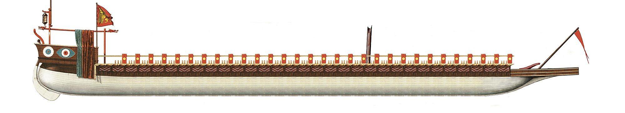 2-Η-άλωση-της-Χαλκίδας-από-τον-Μωάμεθ-Β-στα-1470-Ενετική-γαλέρα-του-15ου-αιώνα
