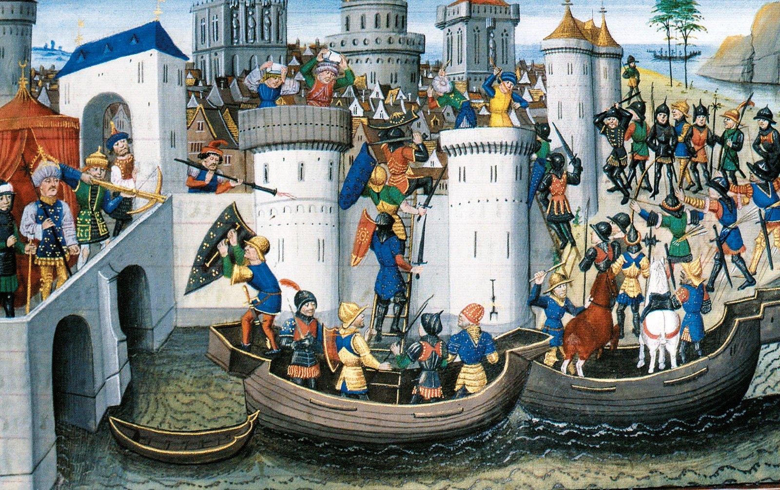 2-άλωση-Κωνσταντινούπολης-1204-Πολιορκία-Νεγροπόντε-Χαλκίδα-Βυζάντιο-Ενετοκρατία