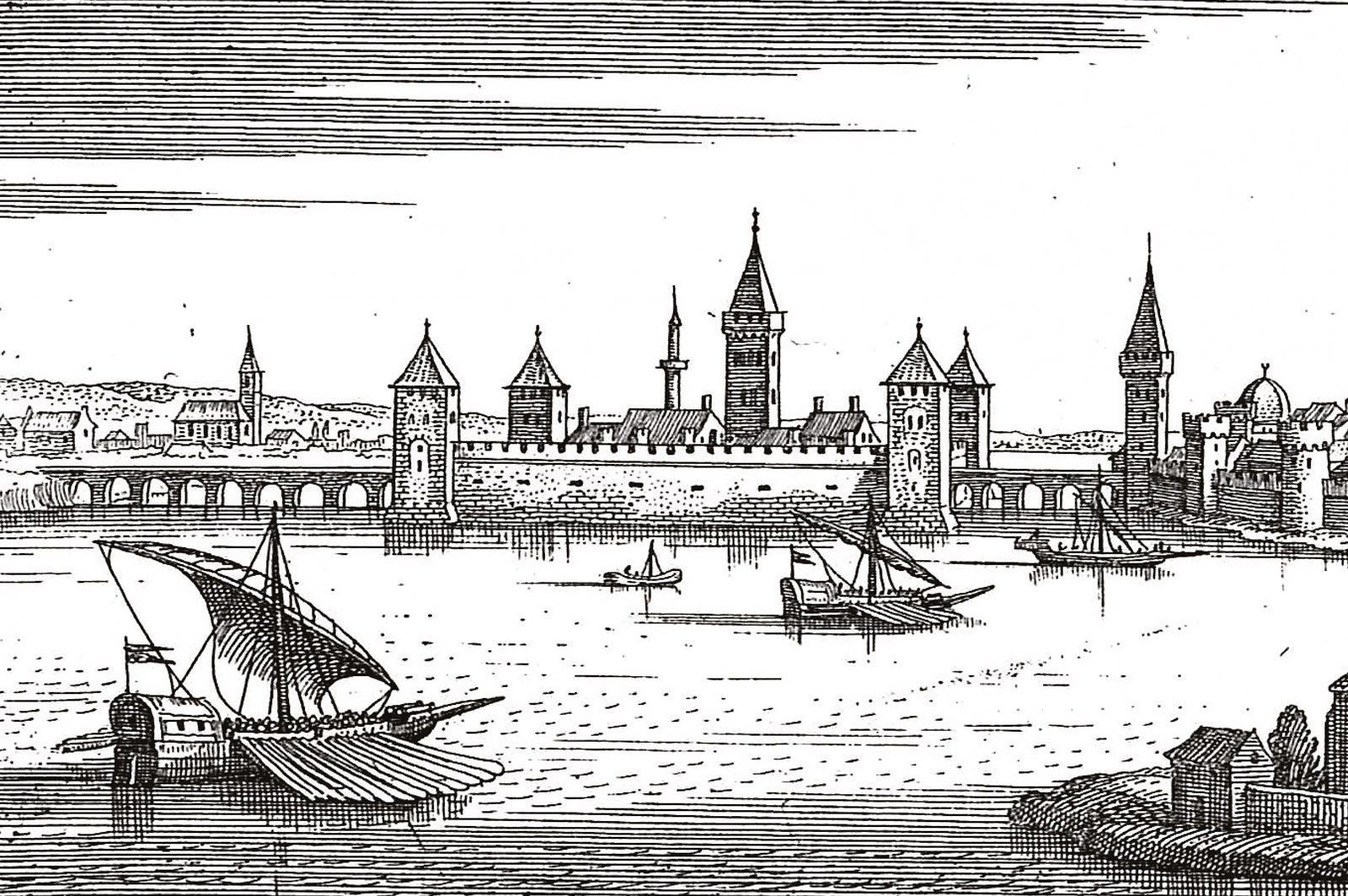 3-κάστρο-Ευρίπου-Πολιορκία-Νεγροπόντε-Χαλκίδα-Βυζάντιο-Ενετοκρατία