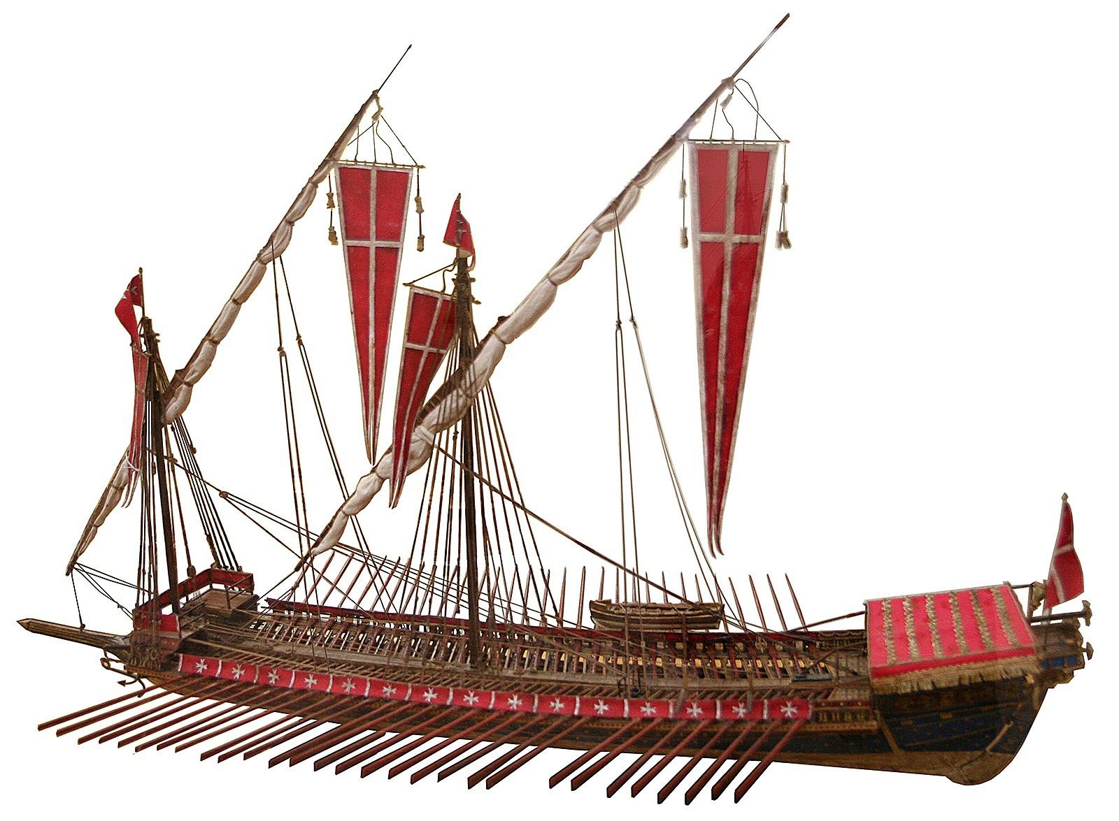 4-Η-άλωση-της-Χαλκίδας-από-τον-Μωάμεθ-Β-στα-1470-Γαλέρα 15πυ αιώνα