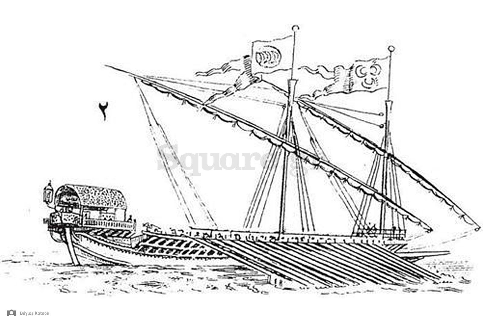 4-Οθωμανική-γαλέρα