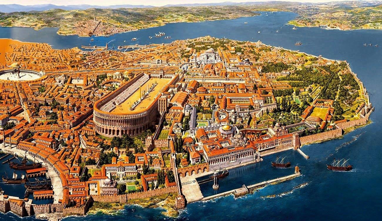 6-Κωνσταντινούπολη-Νεγροπόντε-Χαλκίδα-Βυζάντιο-Ενετοκρατία
