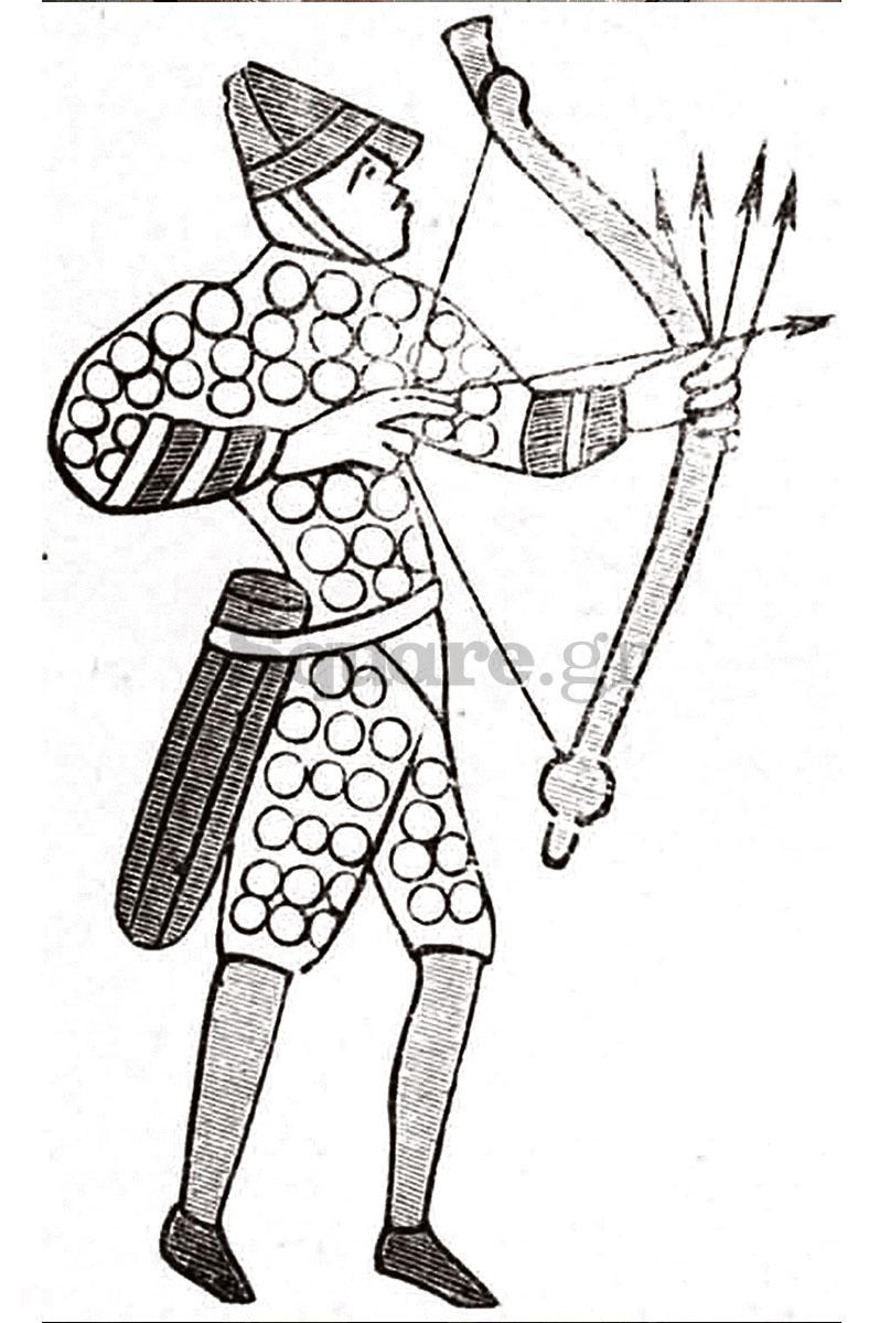 7-Τοξότης-στα-χρόνια-του-μεσαίωνα