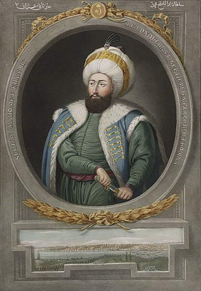 3-Ο-Σουλτάνος-Μωάμεθ-Β'-ο-Πολιορκητής-(1432-–-1481)