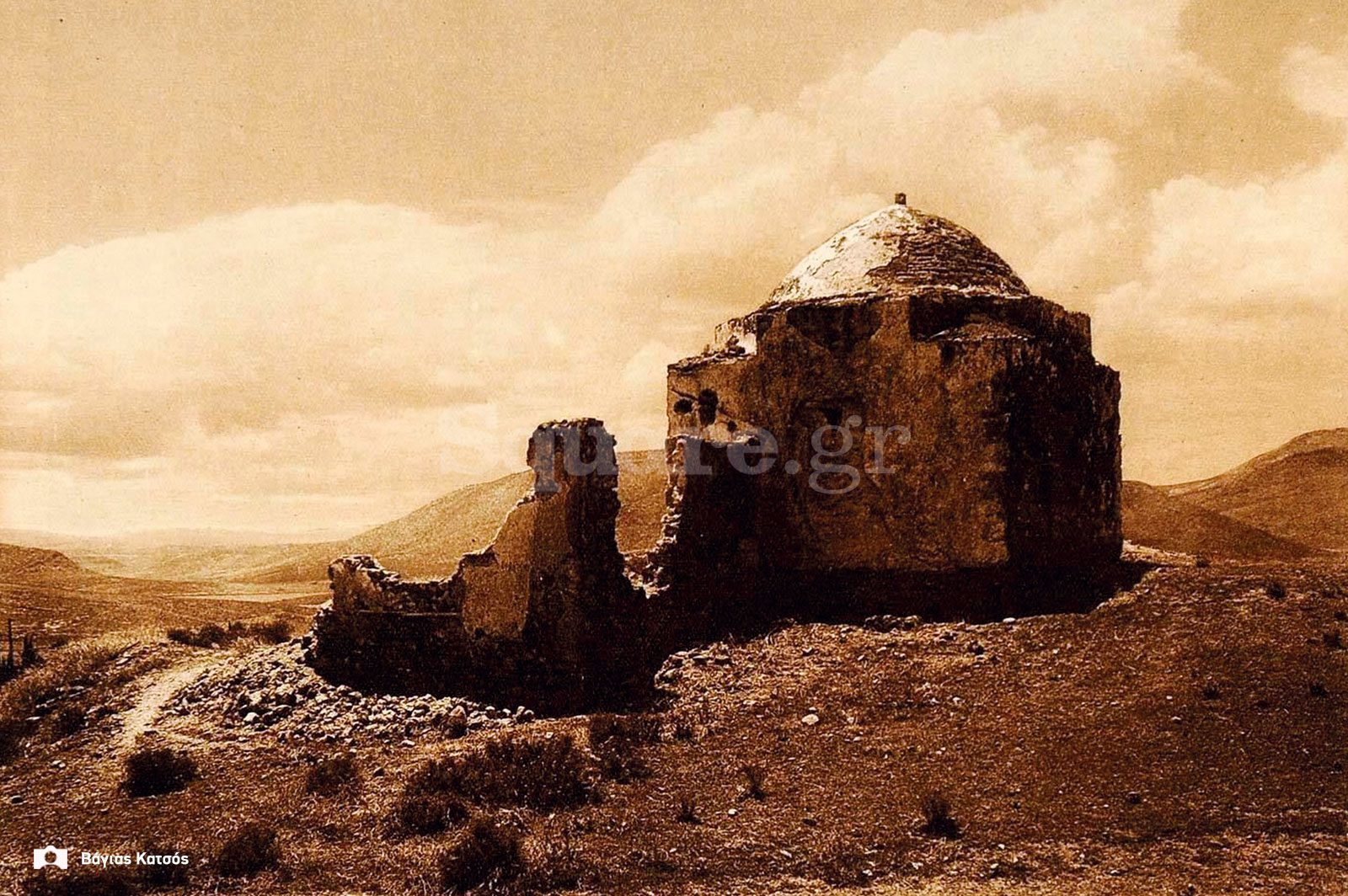1923-Hans-Hold-Ruins-Mosque-Moschee-Chalcis