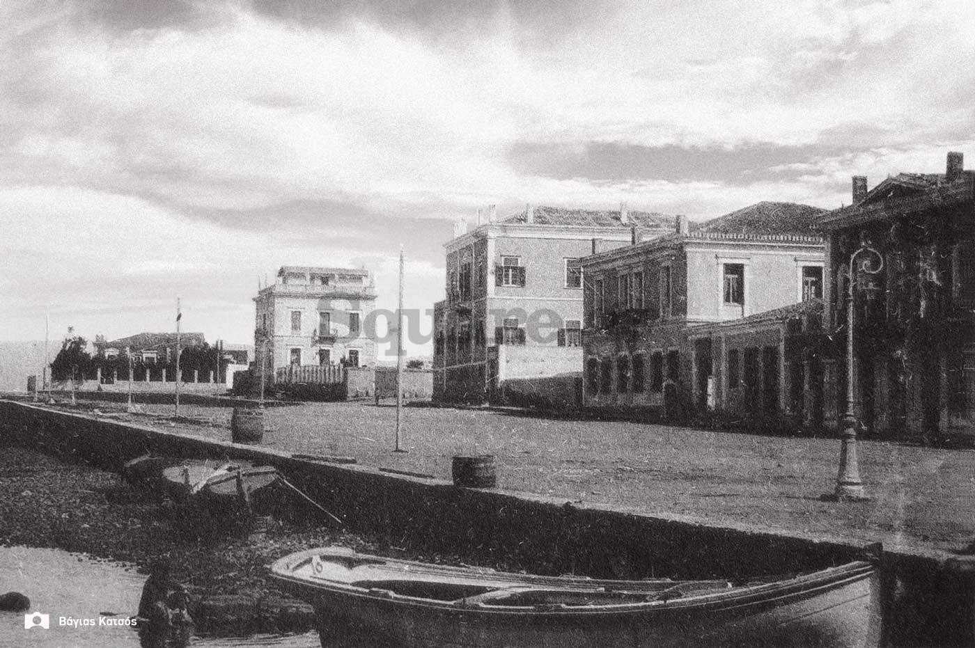 6-Κρηπίδωμα-1910-20 Αρχείο Μπάμπη Μάντουκα