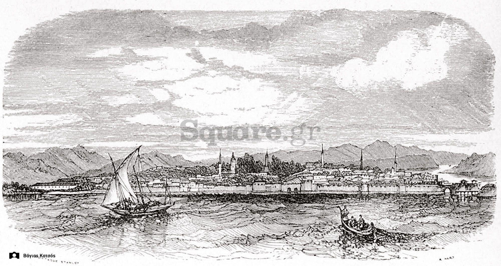 4-1882-Άποψη-της-Χαλκίδας-από-τα-στενά-του-Ευρίπου