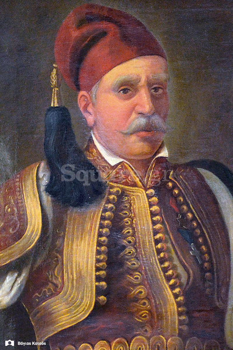 4-Νικόλαος-Κριεζώτης-ελαιογραφία-από-το-Εθνικό-Ιστορικό-Μουσείο