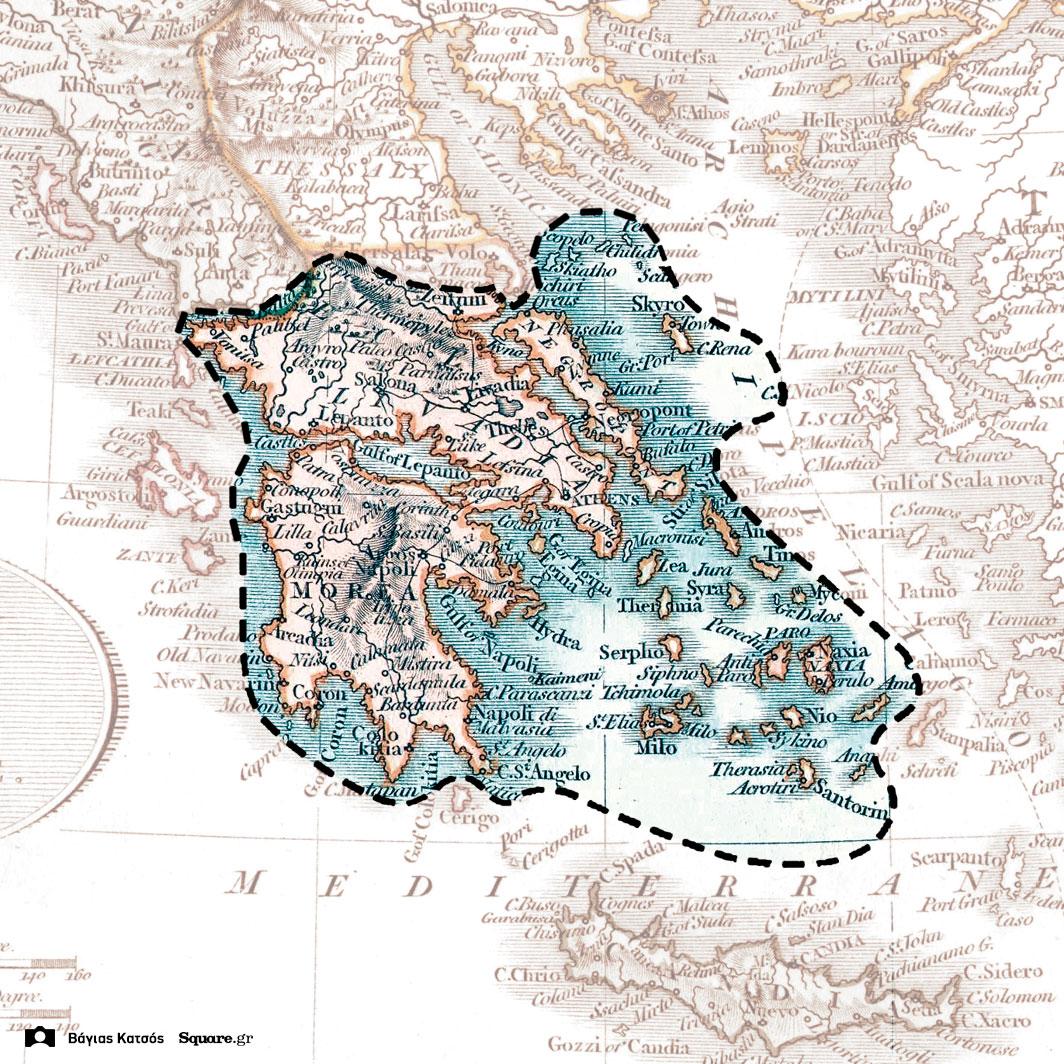 9-Τα-τελικά-σύνορα-της-Ελλάδας-στα-1832