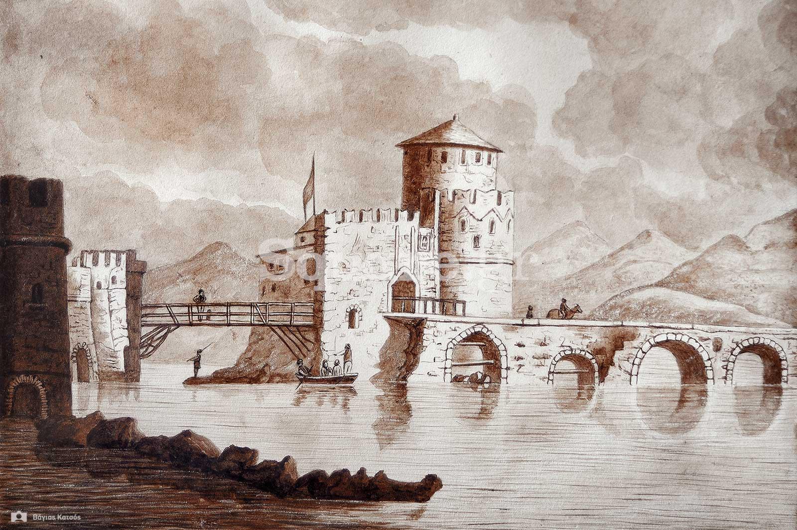 2-Το-κάστρο-του-Ευρίπου-εποχή-Διοικητή-Εύβοιας-Γεώργιος-Ψύλλος-Αποθήκη-οφελίμων-γνώσεων-Δεκέμβριος-1840.