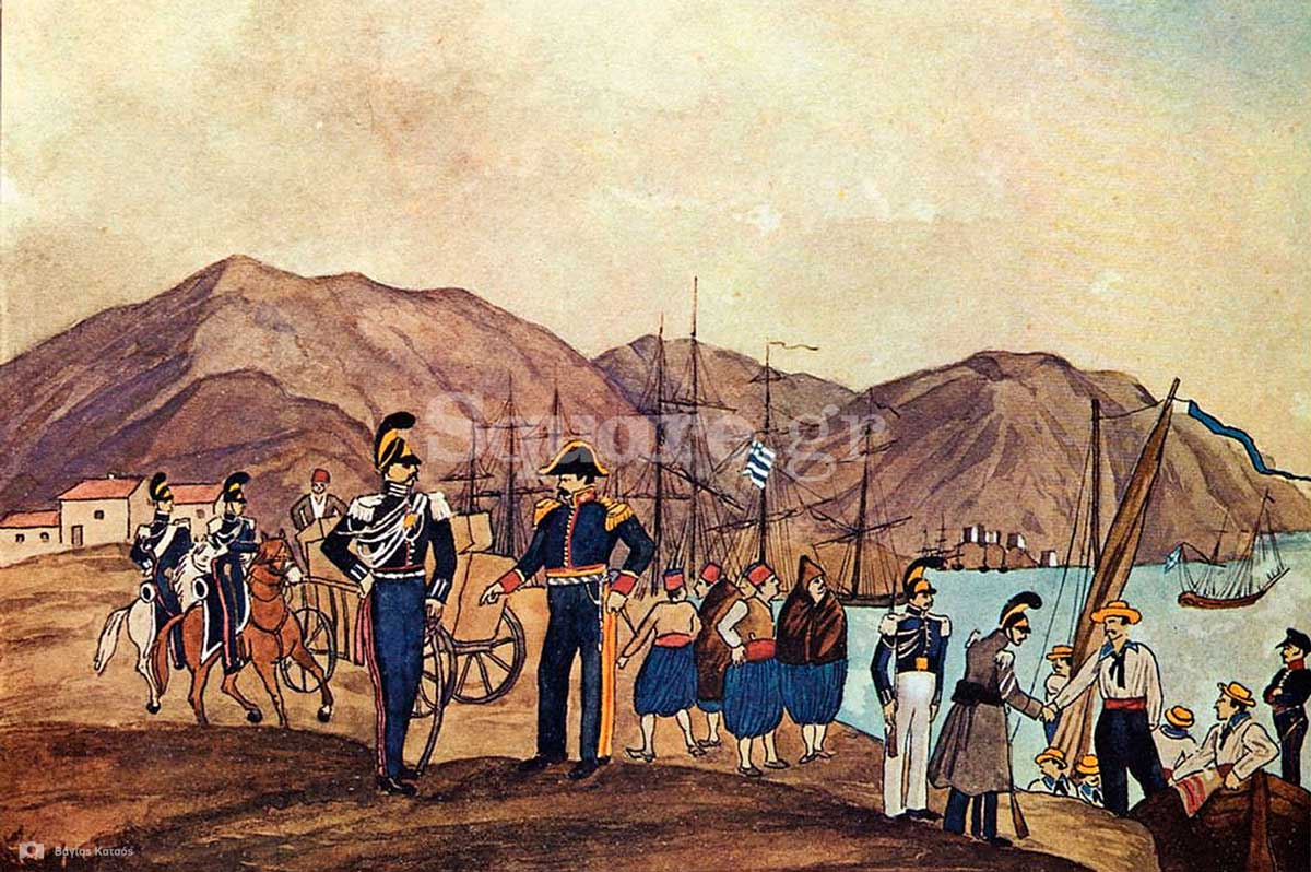 4-Gendarmerie-und-Marine-auf-Negroponte-1835