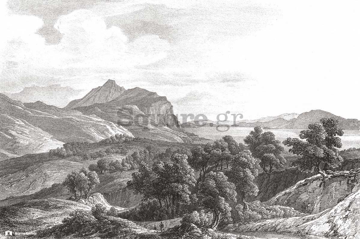 4-Otto-Magnus-von-Stackelberg,-La-Grece,-Vues-pittoresques-et-topographiques,,,-1829-1834