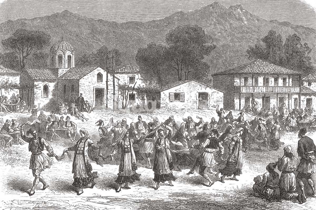 7-Amand-Freiherr-von-Schweige-Lerchenfeld,-Griechenland-in-Wort-und-Bild,-1882-Agia-Anna
