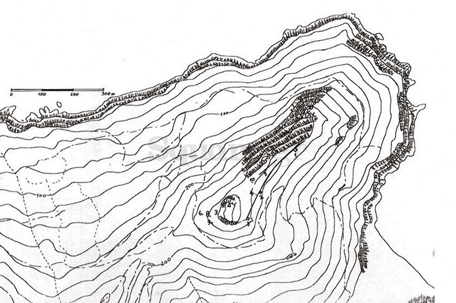 15-Σχεδιάγραμμα-της-τοποθεσίας-του-ακρωτηρίου-της-Φυλάγρας,-από-την-μελέτη-«Οχυρώσεις