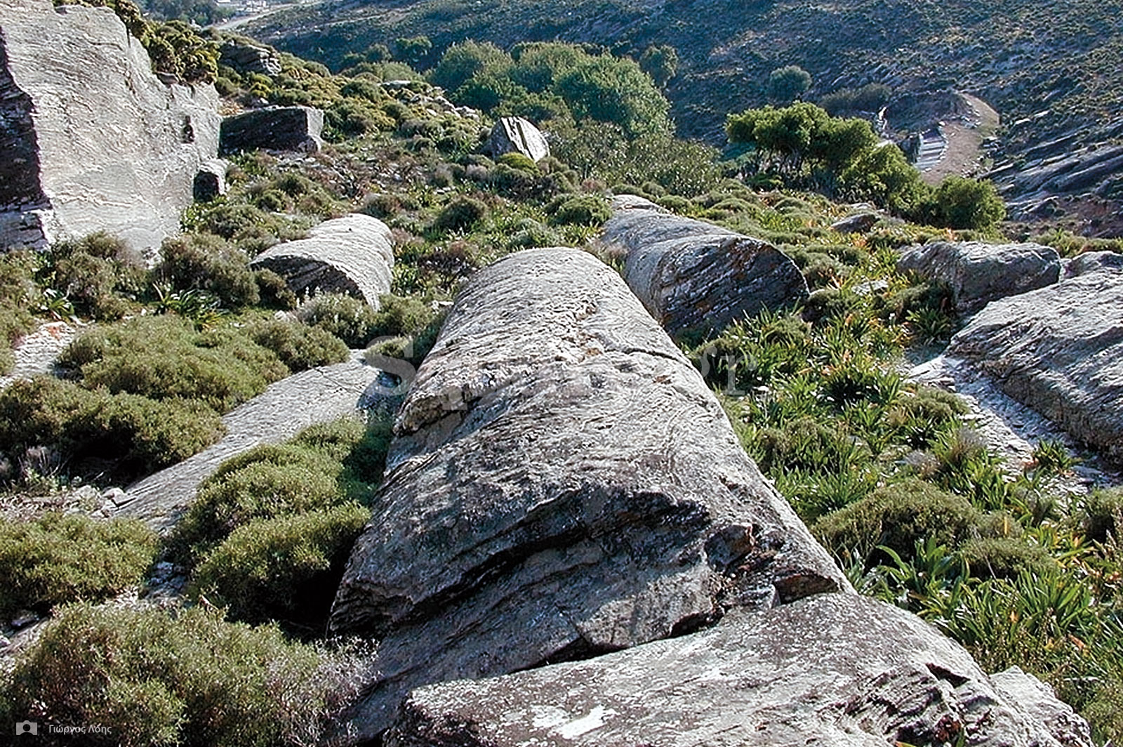 21-Αρχαίο-λατομείο-κοντά-στον-οικισμό-Αετός-Καρύστου-όπου-υπάρχουν-ημιτελείς-μονολιθικοί-κίονες