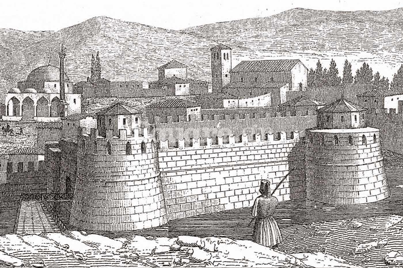17-Η-δυτική-όψη-του-κάστρου-του-Ευρίπου,-όπως-φαινόταν-όταν-ερχόσουν-από-Βοιωτία