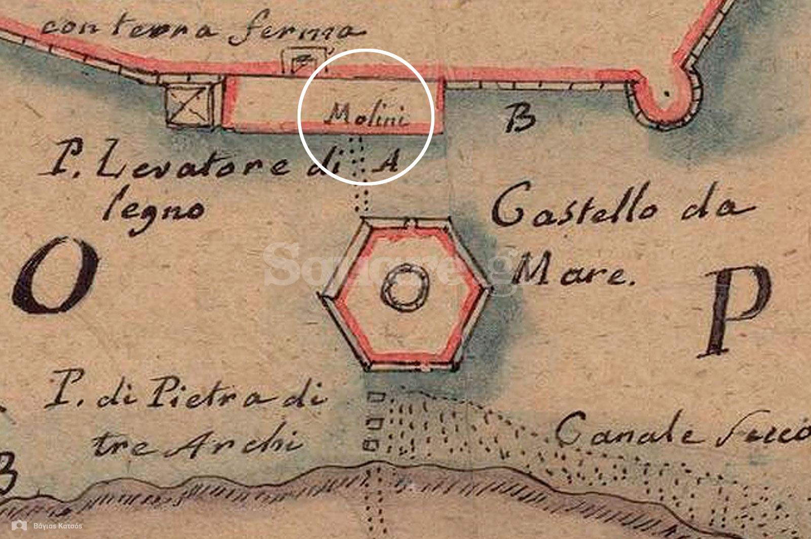 8-Απόσπασμα-από-χάρτη-του-V.-Μ.-Coronelli,-από-το-1688