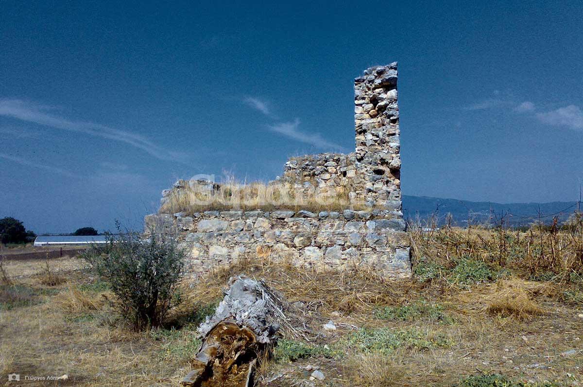 3-Ο-ερειπωμένος-μεσαιωνικός-πύργος-στην-πεδιάδα-των-Ψαχνών
