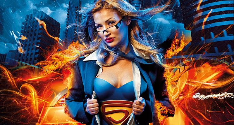 Οι περιπέτειες του Square's supergirl
