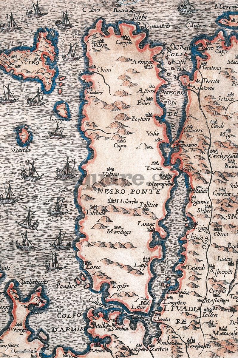 4-Χάρτης-της-Εύβοιας,-αταύτιστος