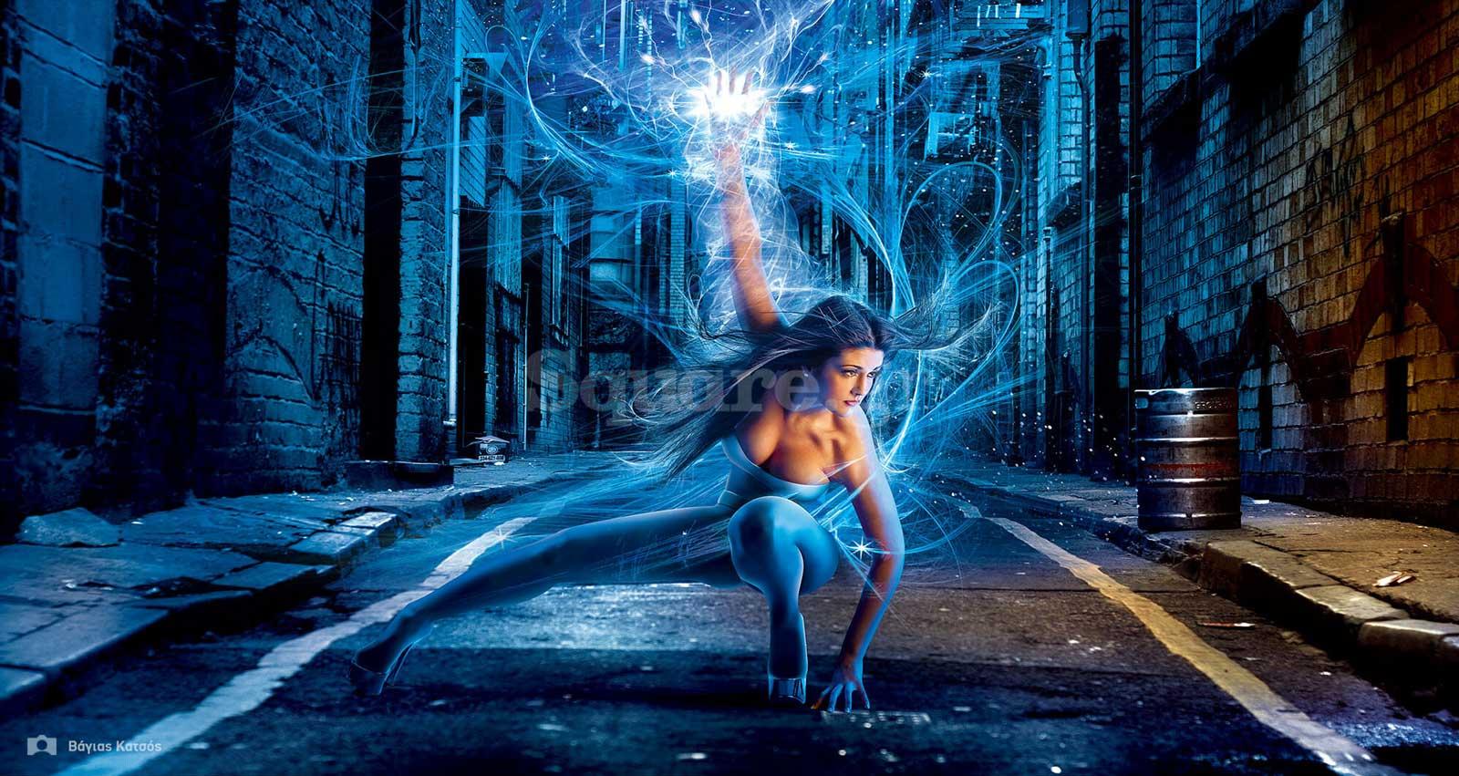 Energy-woman