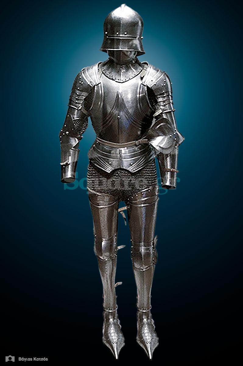 21-Σύνθετη-ανακατασκευασμένη-πανοπλία-με-μέλη-από-την-συλλογή-μεσαιωνικού-εξοπλισμού-της-Χαλκίδας