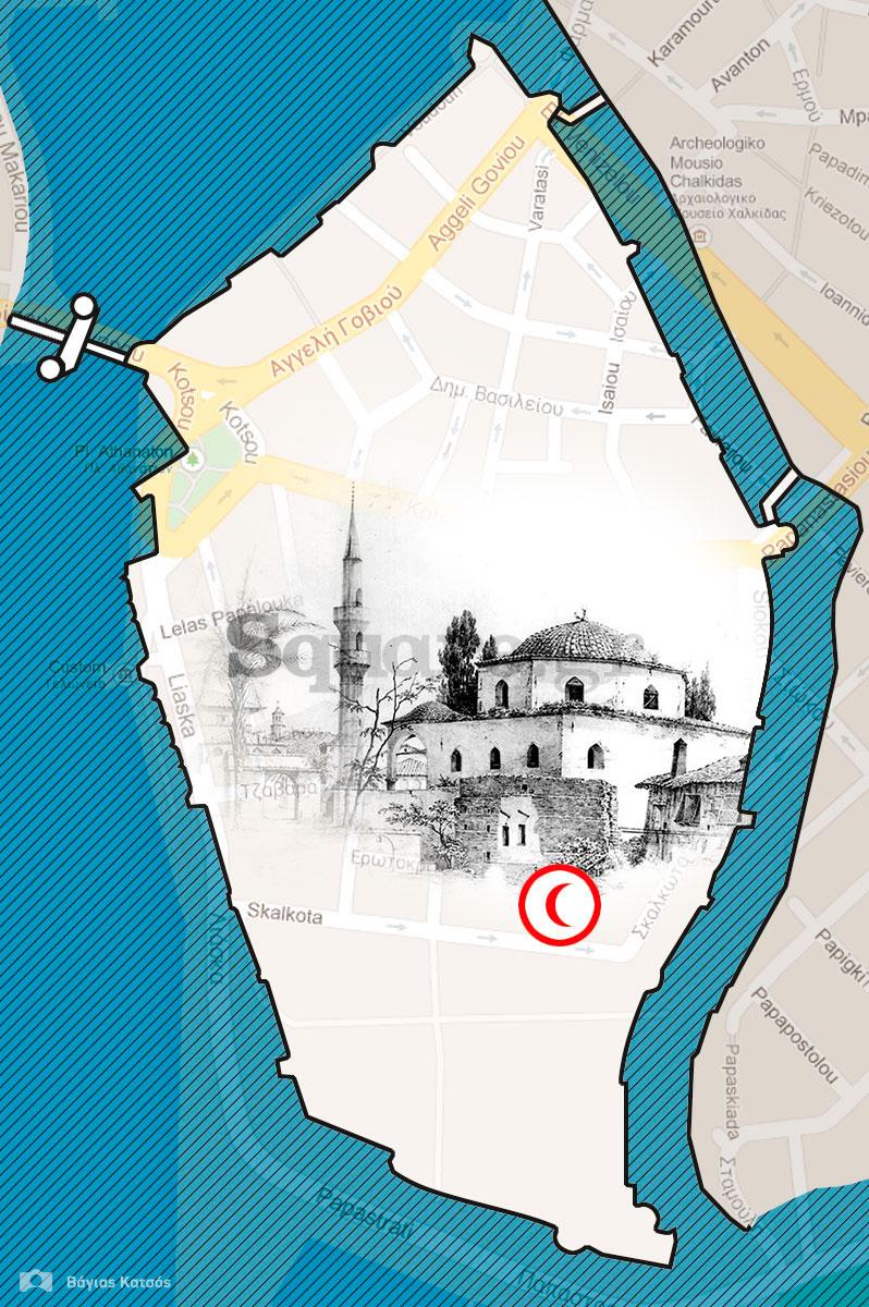 3-Το-πολεοδομικό-διάγραμμα-του-κάστρου-της-Χαλκίδας-στα-1840,-με-εφαρμογή-στο-σύγχρονο-χάρτη-της-πόλης-2