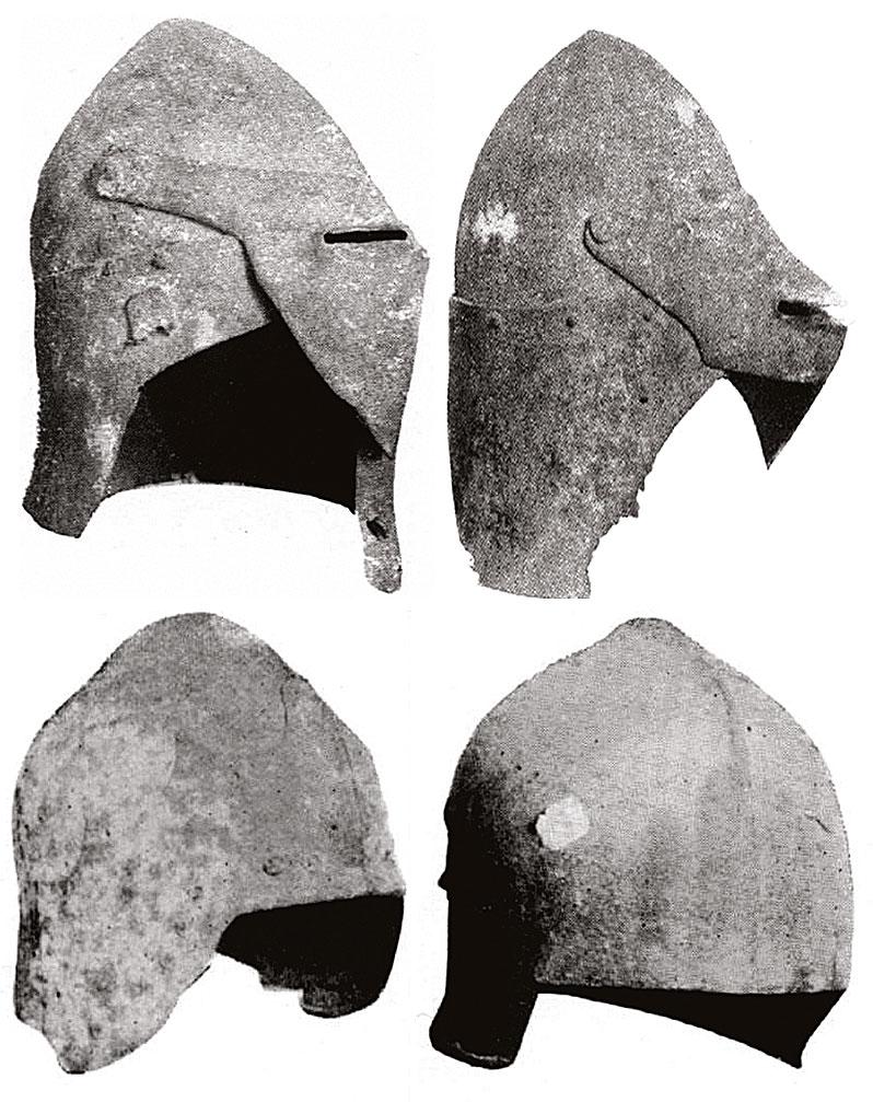 6-Μεσαιωνικά-κράνη