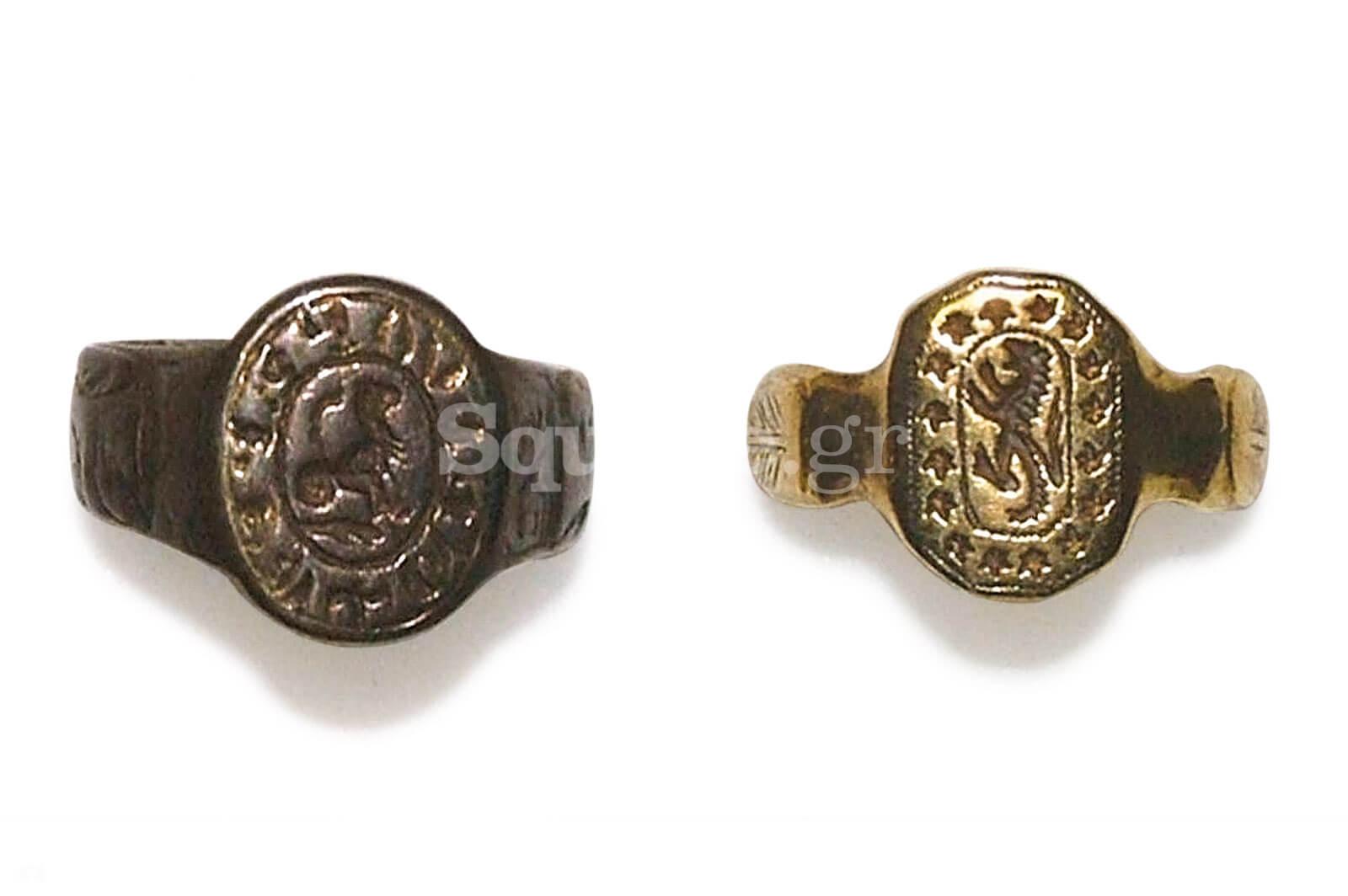 13-Δύο-εγχάρακτα-δακτυλίδια-φτιαγμένα-επιχρυσωμένο-ασήμι-και-χρυσό-του-«θησαυρού»-της-Χαλκίδας
