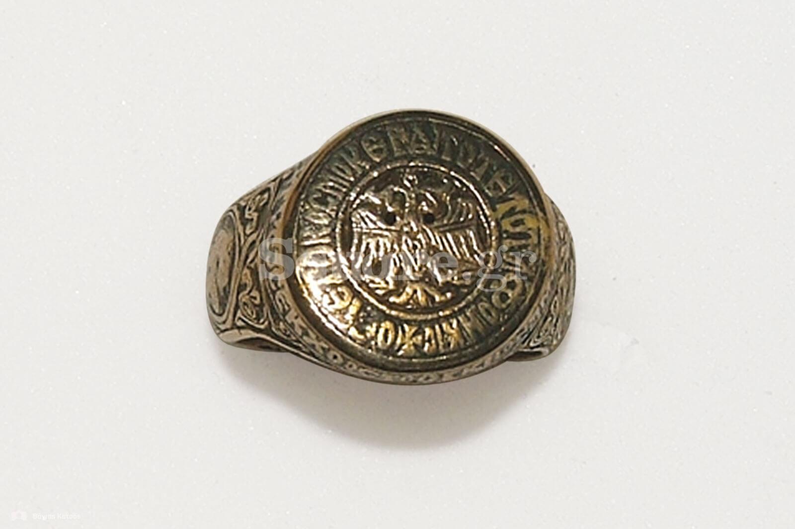 14-Εγχάρακτο-χρυσό-δακτυλίδι-του-14ου-–-15ου-αιώνα,-Βυζαντινής-τεχνοτροπίας,-που-φέρει-την-παράσταση-του-δικέφαλου-αετού-των-Παλαιολόγων