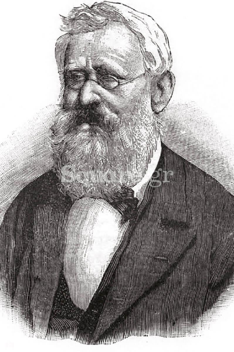 2-Προσωπογραφία-σε-ξυλογραφία-του-νομισματολόγου-Παύλου-Λάμπρου