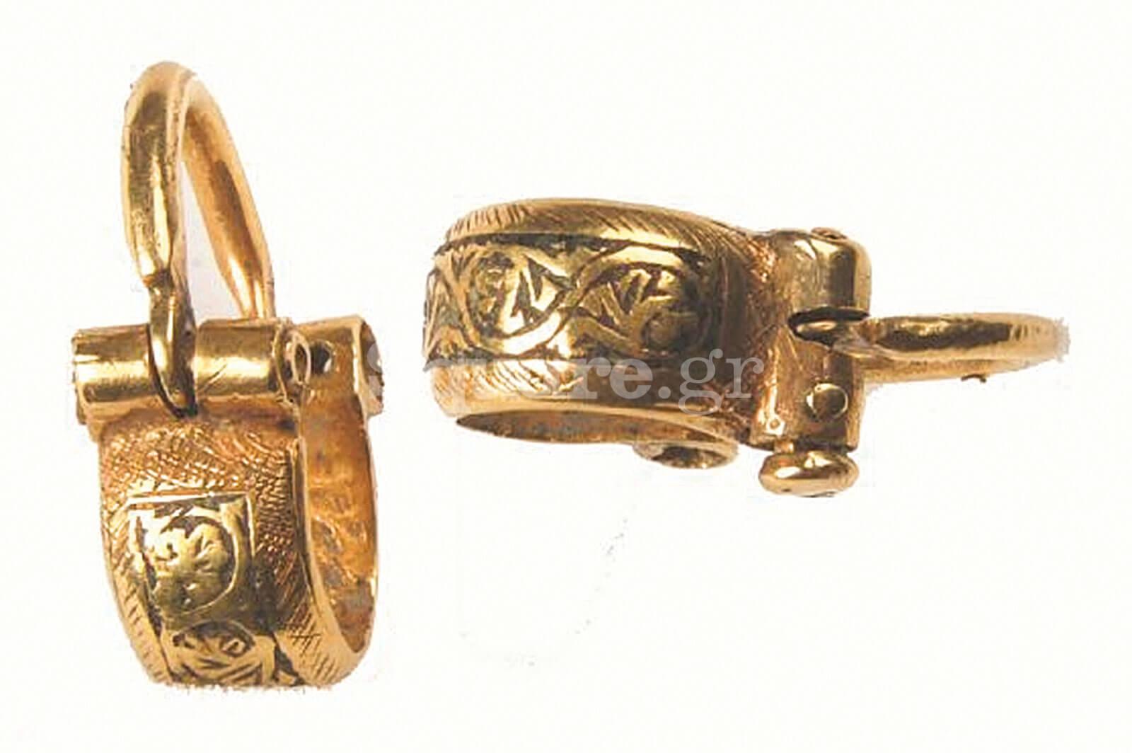 26-Ζεύγος-χρυσών-σκουλαρικιών