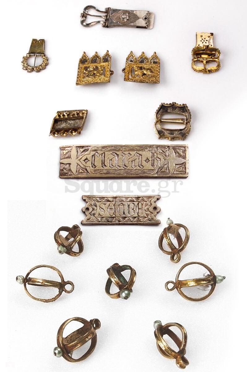 4-Αγκράφες-και-πόρπη-ζώνης-με-κούμπωμα-από-τον-«θησαυρό»-κοσμημάτων-της-Χαλκίδας-Bρετανικό-Μουσείο-του-Λονδίνου