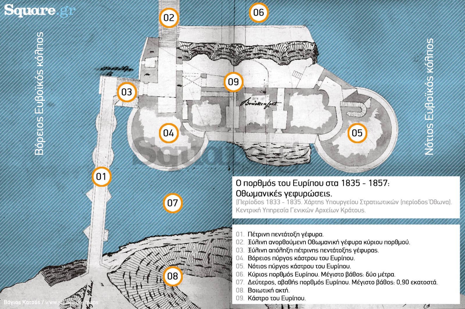 6-Γ-IX-α1-Γέφυρα-Χαλκίδος-1833---1835-Υπουργείο-Στρατιωτικών-(περίοδος-Όθωνα)-Κεντρική-Υπηρεσία-ΓΑΚ-7-επεξηγηματικός-χάρτης