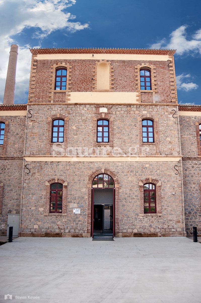 Η είσοδος-του-μουσείου-«Αρεθουσα»